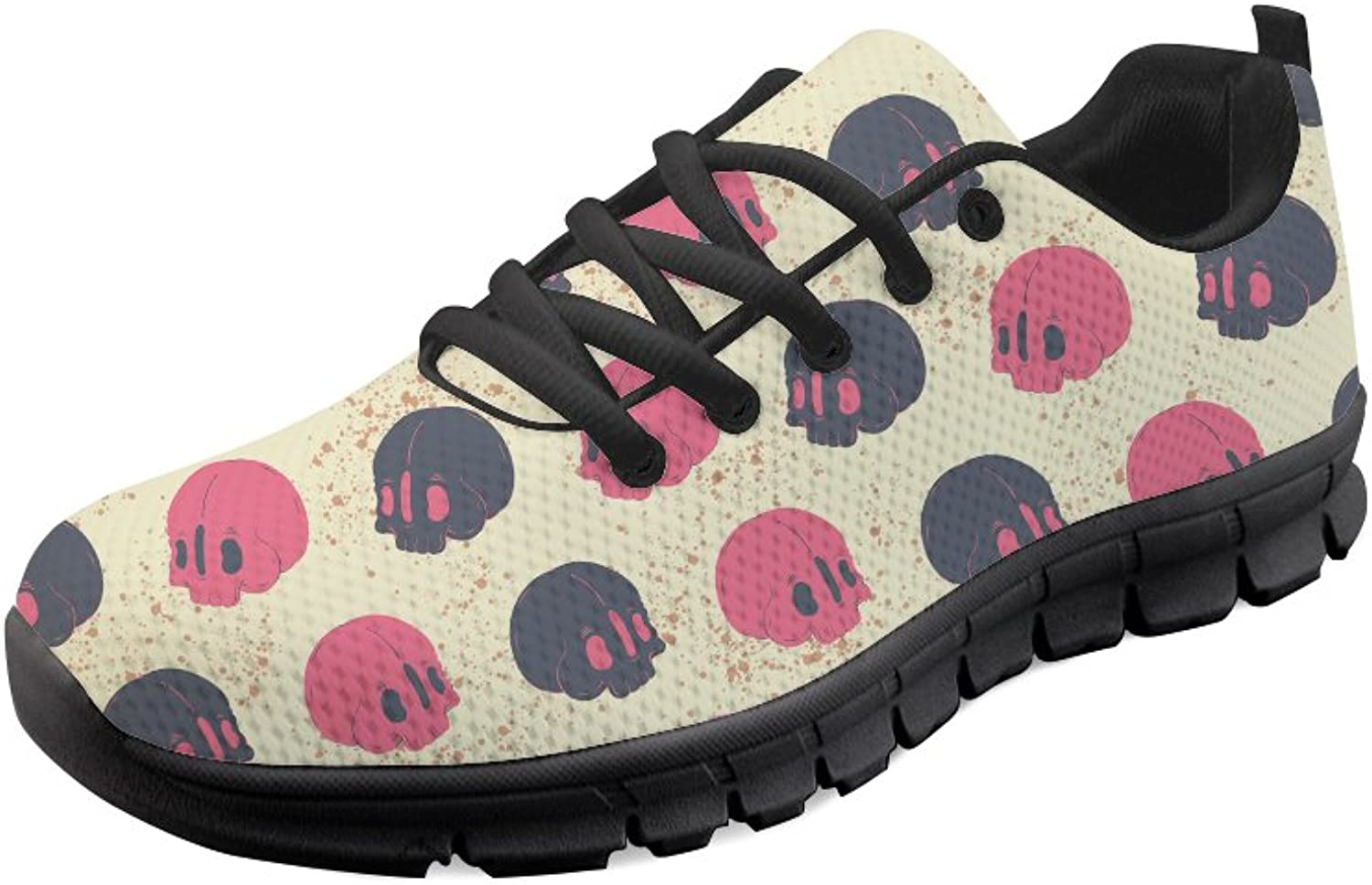 Mumeson Dessert Printed Women Running Sneakers Breathable Athletic Walking shoes