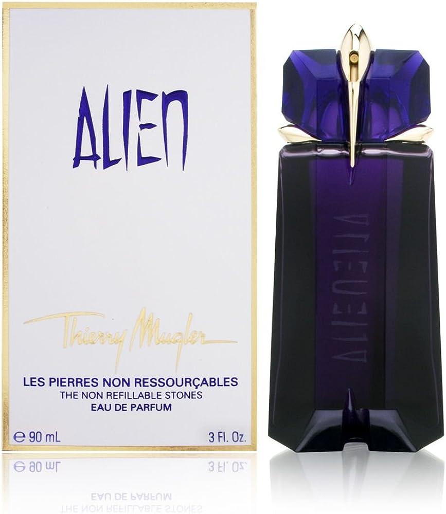 Thierry mugler alien eau de parfum per donna 90ml confezione ricaricabile TM280211