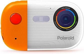 دوربین زیر آب Polaroid 18mp 4K UHD ، دوربین ضد آب Polaroid برای غواصی و غواصی با صفحه نمایش LCD ، دوربین Polaroid دیجیتال قابل شارژ USB برای فیلم و عکس (نارنجی)