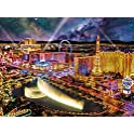 Buffalo Games Las Vegas Night 1000 Piece Jigsaw Puzzle