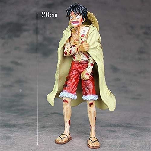 Gjrff Modell Spielzeug Ruffy Model Statue Anime Dekorationen 20cm