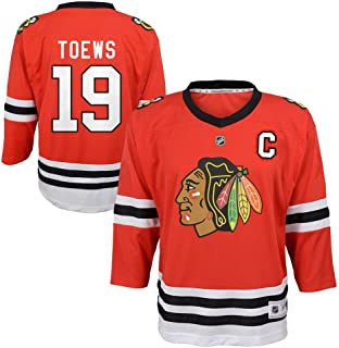 7645de012 Jonathan Toews Chicago Blackhawks NHL Youth Red Replica Players Jersey