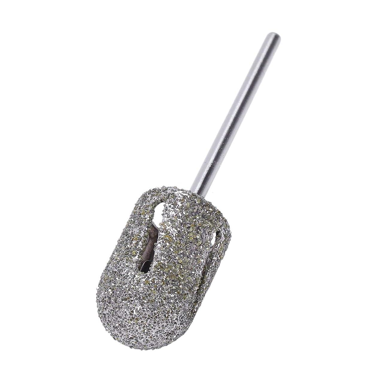 試してみる肥沃な世界的にTOOGOO ダイヤモンドドリルビットロータリー フットキューティクルクリーン マニキュアペディキュアツール ドリルアクセサリー ネイルミルズ-1