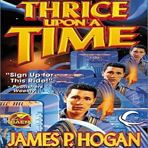 Thrice Upon a Time audiobook cover art