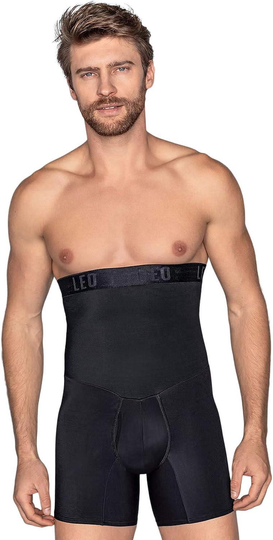 Leo slimming girdle compression body shaper shorts for men