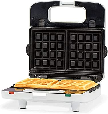 XUBIAODIAN Mini Waffle Maker Machine for Individuals, Other On the Go Breakfast, Lunch, or Snacks, with Easy to Clean, Non-Stick Belgian Waffle Maker with Browning Control