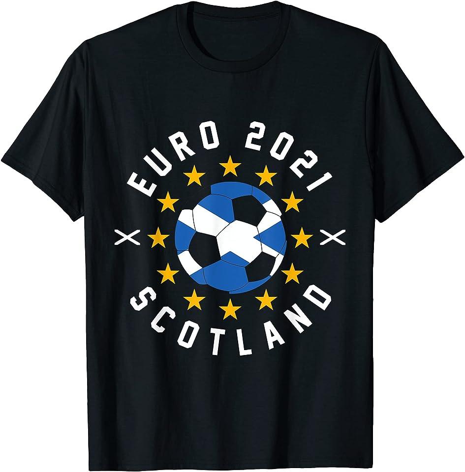 Euro 2021 Tee Scotland Team T-Shirt