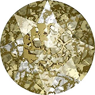 1028 & 1088 Swarovski Chatons & Round Stones Crystal Gold Patina   PP24 (3.1mm) - Pack of 1440 (Wholesale)   Small & Wholesale Packs