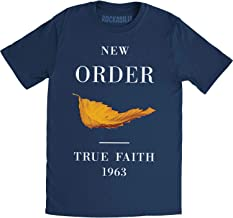 New Order True Faith Fitted Jersey tee