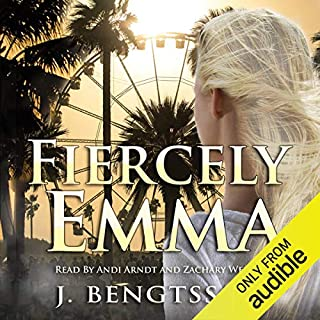 Fiercely Emma audiobook cover art