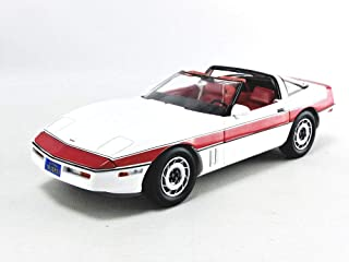 Greenlight 13532 1: 18 The A-Team (1983-87 TV Series) - 1984 Chevrolet Corvette C4 - New Tooling Parts, Multicolor