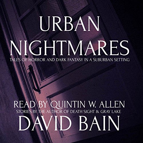 Urban Nightmares audiobook cover art