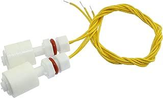 Maxmoral 2pcs M8 Plastic Float Switch Vertical Liquid Water Level Sensor for Aquariums Fish Tank DIY Measuring Tool
