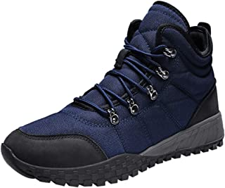Mens Outdoor Boots Comfortable Non-Slip Wear-Resistant Combat Hiking Military Boots by Kinlene