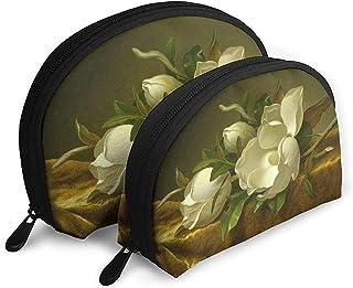 Magnolias en Oro Bolsas portátiles de Tela