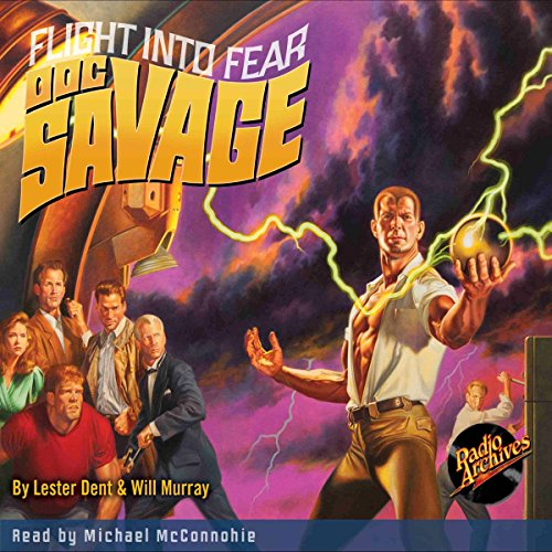Doc Savage #1: Flight into Fear cover art