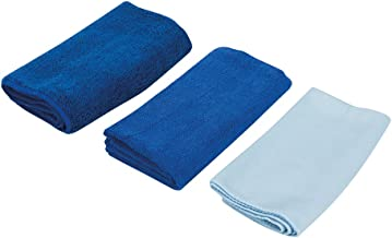 Silverline 250276 Microfibre Cloth Cleaning Set 3-Piece