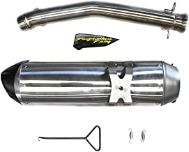 Two Brothers compatible with S1R Slip-On Racing Exhaust Can-Am Ryker 600 900 Rally