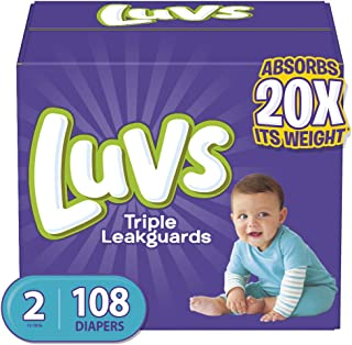 Luvs Ultra Leakguards, Stage 2 Disposable Diaper, 108 Ct