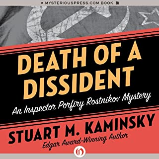 Death of a Dissident audiobook cover art