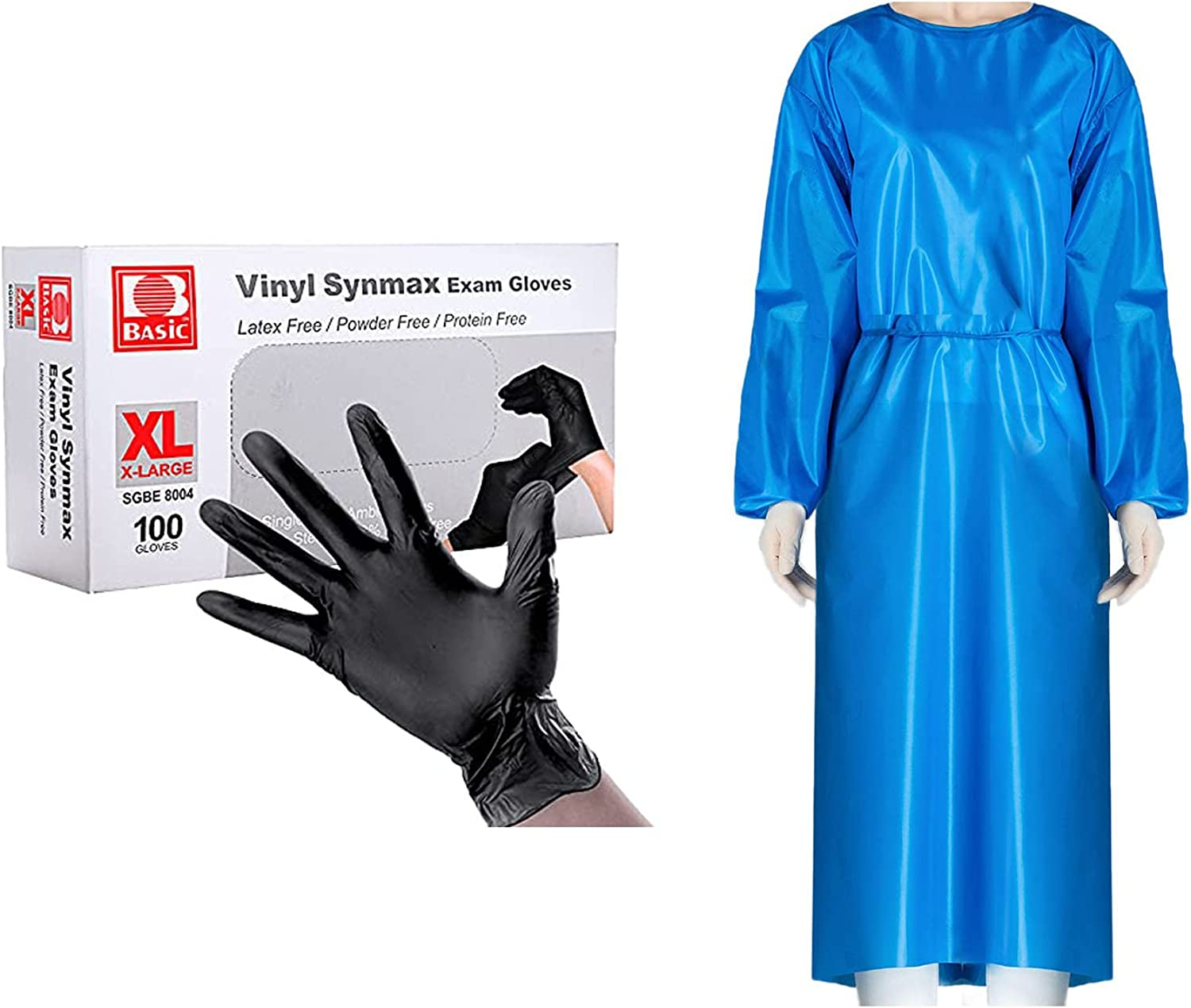Disposable Gloves Ranking TOP10 Black Fixed price for sale Latex-Free Exam Vinyl Glo Powder-Free