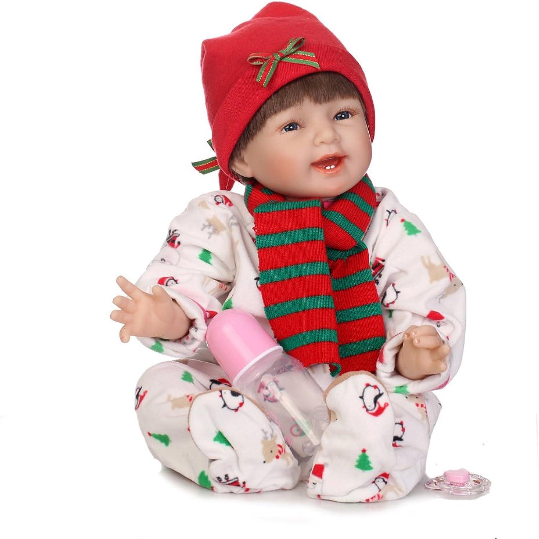 precios mas bajos QXMEI Doll Simulation Baby Doll Cute Girl Girl Girl Juguete Ideas De Regalo 55cm  ahorra hasta un 80%