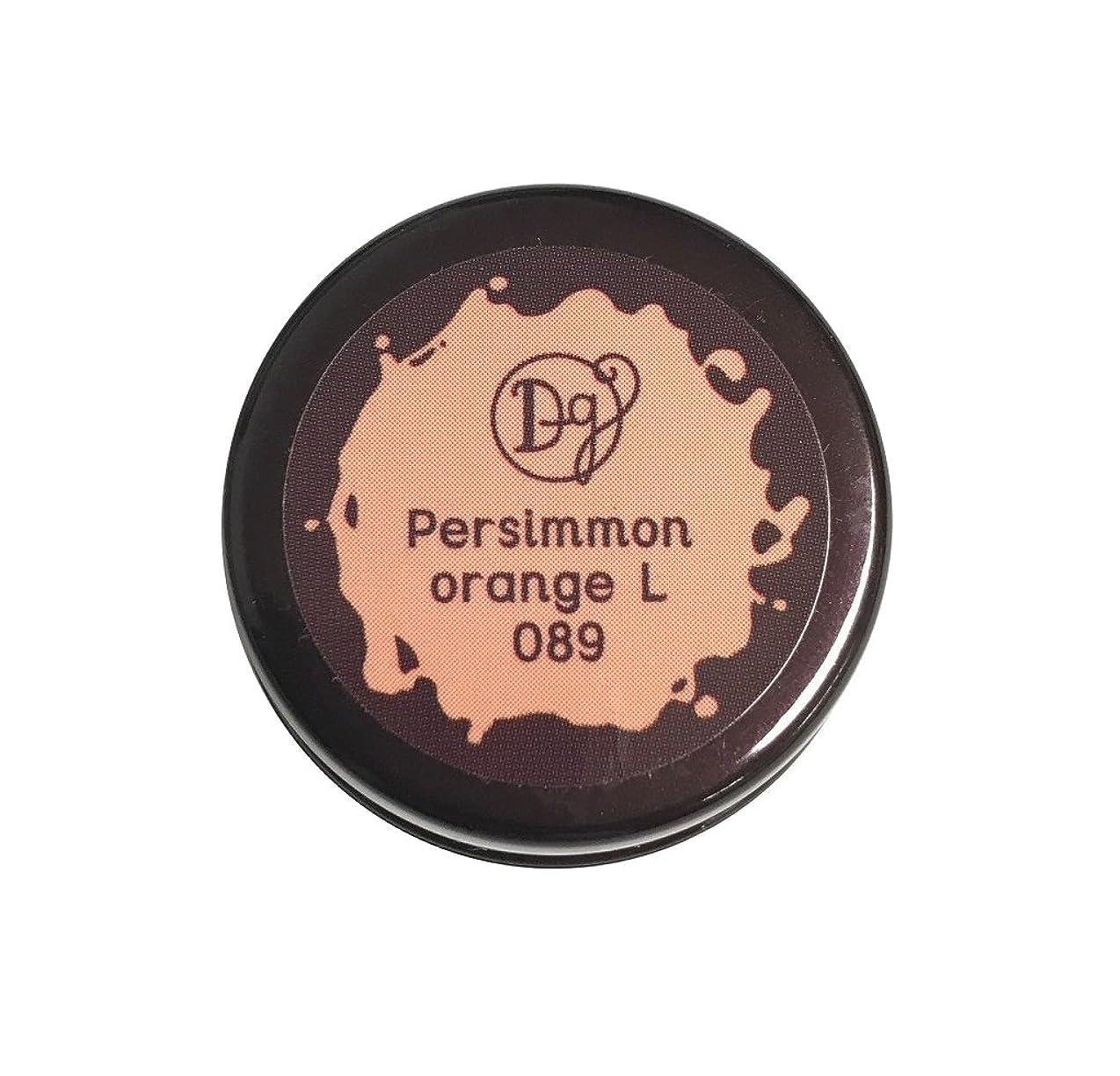 デマンド医療過誤テーブルを設定するDECORA GIRL カラージェル #089 パーシモンオレンジライト
