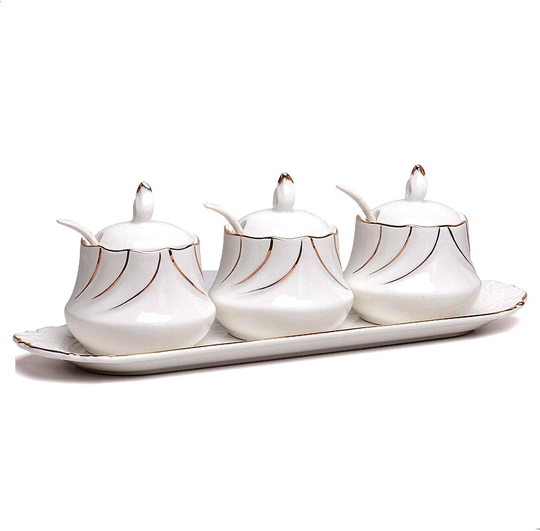 BIHOIB Stone Shape Max 69% OFF Product Porcelain Sugar Conta Salt Condiment Bowl Pot