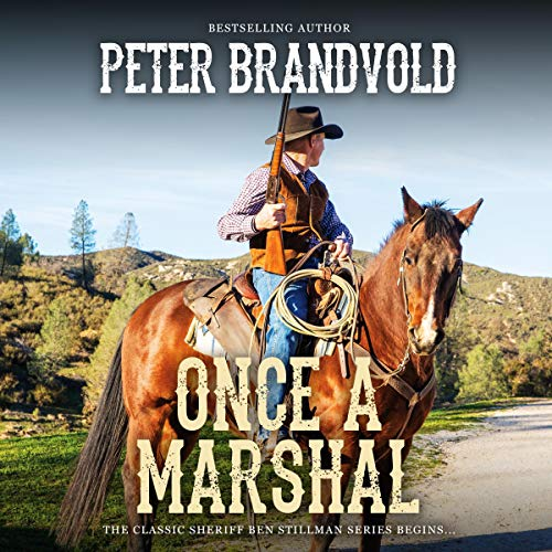 Once a Marshal audiobook cover art