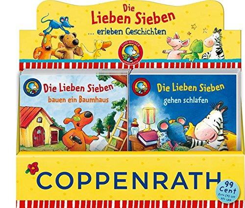 Die Lieben Sieben, Box Nr. 55: ... erleben Geschichten (6 x 10 Ex.) (Lino-Bücher)