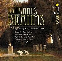 Horn Trio in E-Flat Op. 40 / Clarinet Trio Op. 114 by DIETER / WEIGLE,SEBASTIAN KLOCKER