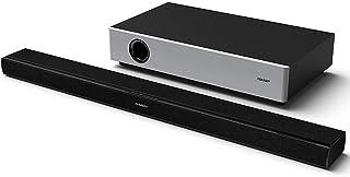 SHARP Slim Soundbar System 2.1 Soundbar + Ultra Slim subwoofer, HDMI, Bluetooth, AUX, Zwart