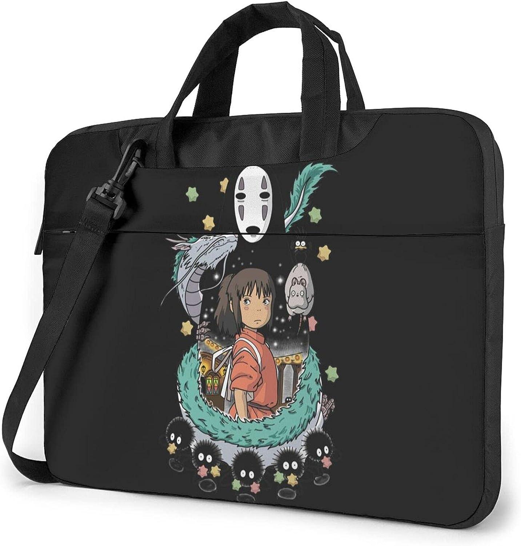 Dealing full price reduction Spirited Away Laptop Bag Ultra Work Briefcase Portable service Shoulder