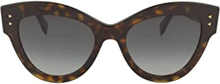 Luxury Fashion | Fendi Womens FF0266S0869O Brown Sunglasses | Season Permanent