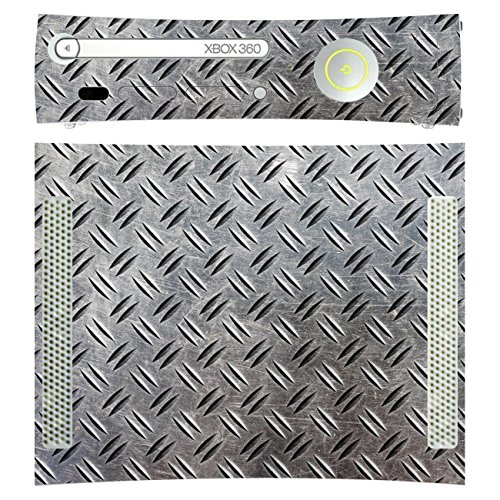 Disagu SF-sdi-3384_1043 Design Folie für Microsoft Xbox 360 liegend - Motiv Riffelblech realisitsch transparent