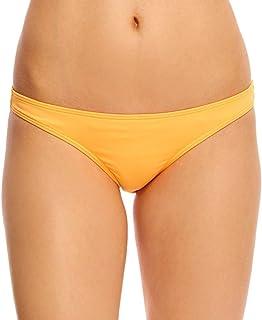 Rip Curl Women's Love N Surf Classic Full Coverage Bikini Bottom, Light Orange, X-Large