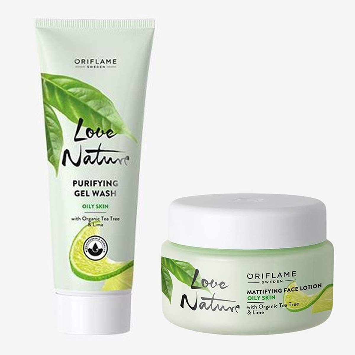 free shipping Oriflame LOVE NATURE Mattifying Face Organic Tre Lotion Tea with shop