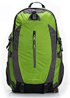 Outdoor Mountaineering Bag Hiking Backpack Multi-Function Travel Backpack Bicycle Backpack Large Capacity FKYGDQ (Color : Green)