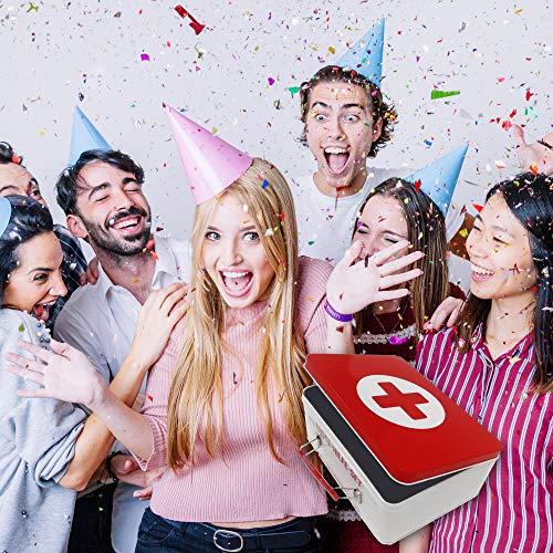 18. Geburtstag | Erste Hilfe Set Geschenk-Box, witziger Sanikasten | 8-teilig | Spaßgeschenk zum 18. Geburtstag - 7