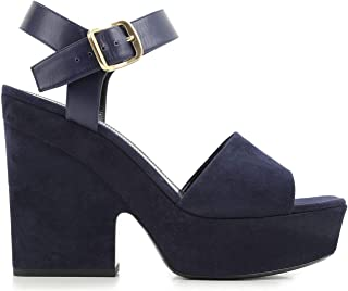 preferente Céline Mujer Mujer Mujer 317773SPZC07NY Azul Gamuza Zapatos  precio mas barato