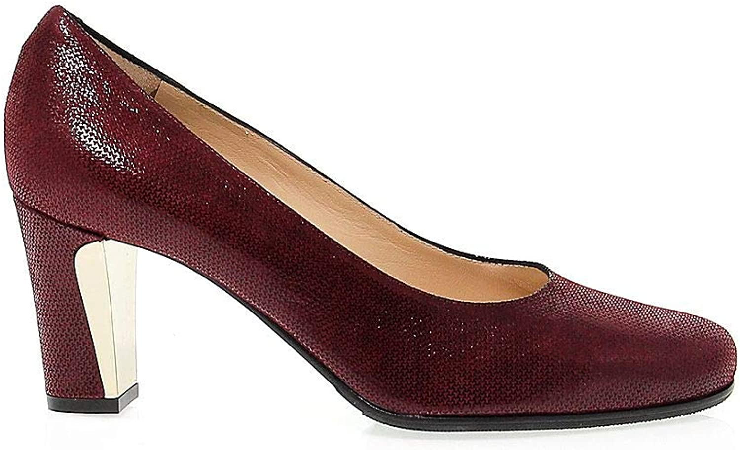 MARTINA Women's MART15880 Red Leather Pumps