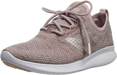 New Balance Wohommes Coast V4 FuelCore FonctionneHommest chaussures, Charm rose Mist Champagne Metallic, 11 D US