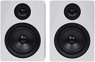 Rockville 2-Way 250W Active/Powered USB Studio Monitor Speakers Pair, 5.25 inch (APM5W)