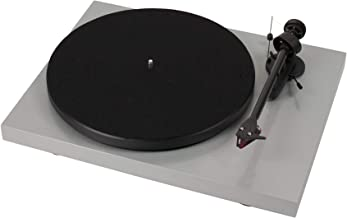 Pro-Ject Debut Carbon DC Turntable with Ortofon 2M Red Cartridge (Silver)