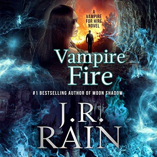 Vampire Fire audiobook cover art