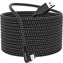 Compatible with Oculus Quest 2 Link Cable, [Fast Charging] [High Speed Data Transfer] [Durable Nylon Braided] USB A to USB C 3.2 Gen1 Cord for VR Headset and Gaming PC (16FT/5M)