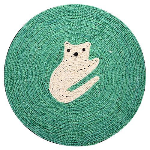 yunt Spielzeug Kratzbaum für Katzen Teppich Sisal Teppich Scratch für Katzen