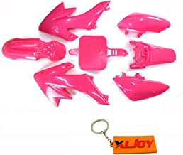 XLJOY Pink Fairing Plastic Fender Kits For CRF50 XR50 Pit Dirt Bike 50cc 70cc 90cc 110cc