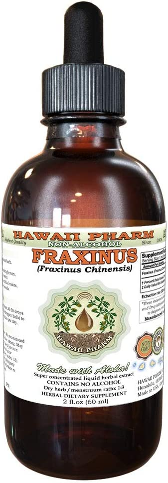 Fraxinus Now on sale Qin Milwaukee Mall Pi Chinensis Dried bark Tincture Liqui