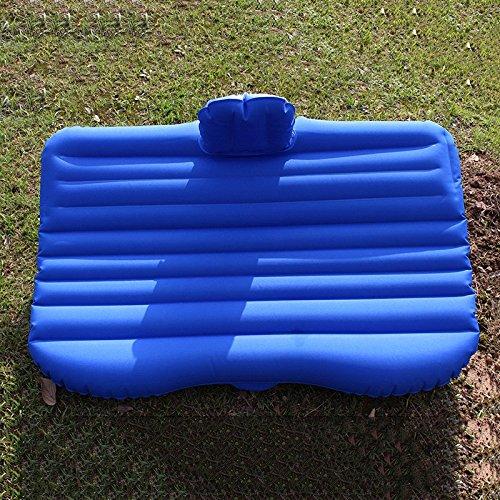 ZWL Auto aufblasbares Bett Auto Matratze Suv Autositz Auto-hintere Auto-Reise Outdoor-Camping-Bett-Luft-Kissen-Bett Fashion.z ( Farbe : Blau )